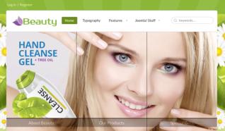 Шаблон BT Beauty для CMS Joomla от BonusThemes