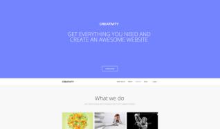 Шаблон GK Creativity для CMS Joomla от GavickPro