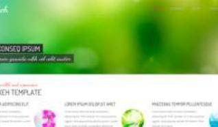 Шаблон HOT Bokeh для CMS Joomla от HotJoomla