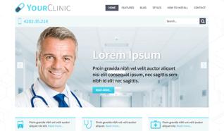 Шаблон HOT Clinic для CMS Joomla от HotJoomla