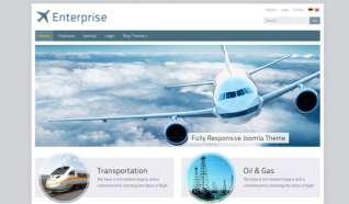 Шаблон IT Enterprise для CMS Joomla от IceTheme