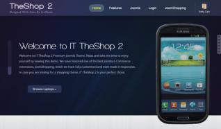 Шаблон IT TheShop 2 для CMS Joomla от IceTheme