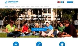 Шаблон JS Shaper University для CMS Joomla от JoomShaper