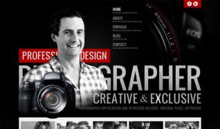 Шаблон OT Photographer для CMS Joomla от OmegaTheme