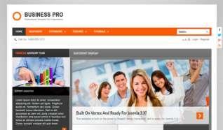 Шаблон S5 Business Pro для CMS Joomla от Shape5