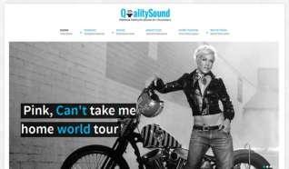 Шаблон YJ Qualitysound для CMS Joomla от YouJoomla