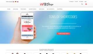 Шаблон ZT Webshop для CMS Joomla от ZooTemplate