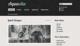 Шаблон Aquavila Lite для CMS Joomla от Прочие