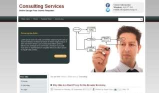 Шаблон DD Consulting для CMS Joomla от Прочие