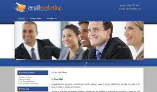 Шаблон DD Email Marketing для CMS Joomla от Прочие