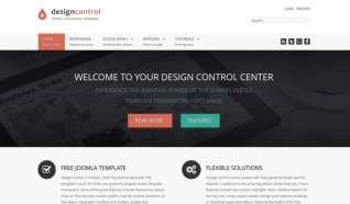 Шаблон Design Control для CMS Joomla от Прочие