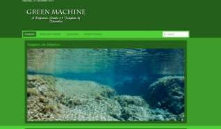 Шаблон Green Machine для CMS Joomla от Прочие