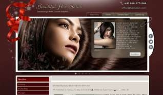 Шаблон Hair salon для CMS Joomla от Прочие