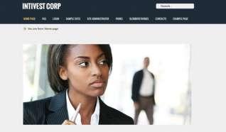 Шаблон Intivest Corp для CMS Joomla от Прочие