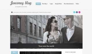Шаблон Journey blog 2 для CMS Joomla от Прочие