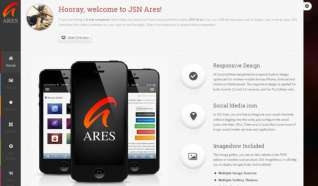 Шаблон JSN Ares для CMS Joomla от Прочие
