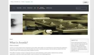 Шаблон Simple 6 для CMS Joomla от Прочие