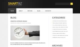 Шаблон Smartbiz для CMS Joomla от Прочие
