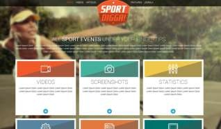 Шаблон The Sport, Digga! для CMS Joomla от Прочие