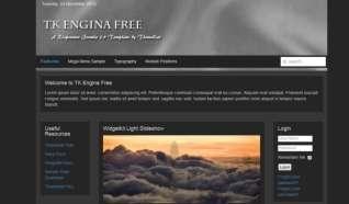 Шаблон TK Engina для CMS Joomla от Прочие