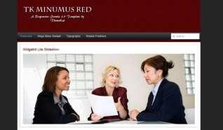 Шаблон TK Minimus Red для CMS Joomla от Прочие
