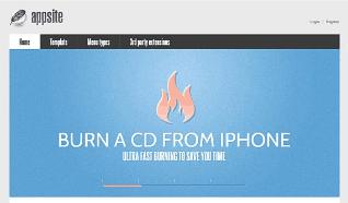 Шаблон GK AppSite для CMS Joomla от GavickPro