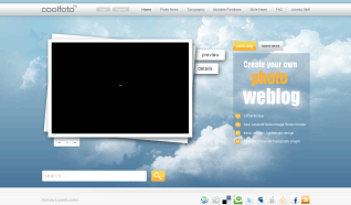 Шаблон GK Coolfoto для CMS Joomla от GavickPro