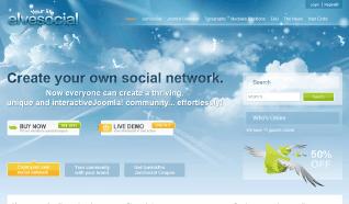 Шаблон GK elveSocial для CMS Joomla от GavickPro