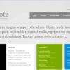 Шаблон GK PostNote для CMS Joomla от GavickPro