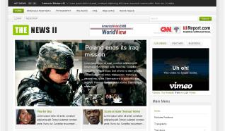 Шаблон GK The News II для CMS Joomla от GavickPro