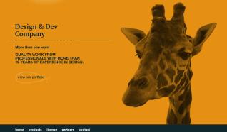 Шаблон i-Giraffe для CMS Joomla от iTemplater