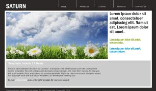 Шаблон i-Saturn для CMS Joomla от iTemplater