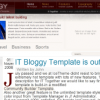 Шаблон IT Bloggy для CMS Joomla от IceTheme