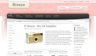 Шаблон IT Breeze для CMS Joomla от IceTheme