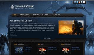 Шаблон IT GamerZone для CMS Joomla от IceTheme