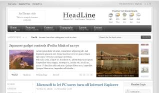 Шаблон IT HeadLine для CMS Joomla от IceTheme