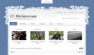 Шаблон IT Millennium для CMS Joomla от IceTheme