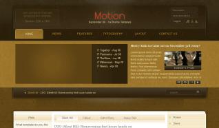 Шаблон IT Motion для CMS Joomla от IceTheme