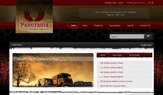 Шаблон IT Panorama для CMS Joomla от IceTheme