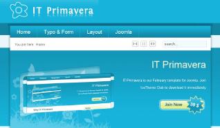 Шаблон IT Primavera для CMS Joomla от IceTheme