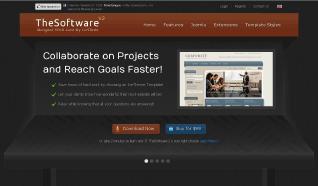 Шаблон IT theSoftware 2 для CMS Joomla от IceTheme