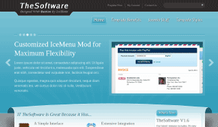 Шаблон IT TheSoftware для CMS Joomla от IceTheme