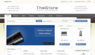 Шаблон IT TheStore для CMS Joomla от IceTheme