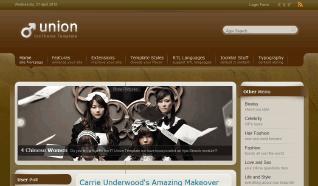 Шаблон IT Union для CMS Joomla от IceTheme