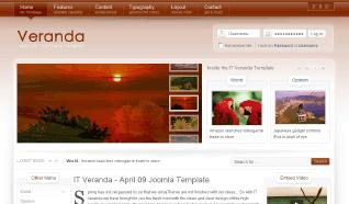 Шаблон IT Veranda для CMS Joomla от IceTheme