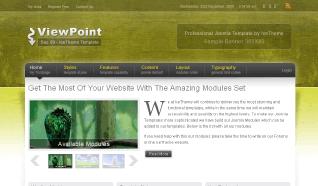 Шаблон IT ViewPoint для CMS Joomla от IceTheme