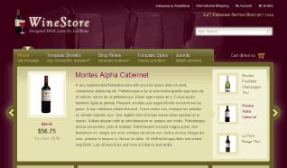 Шаблон IT WineStore для CMS Joomla от IceTheme