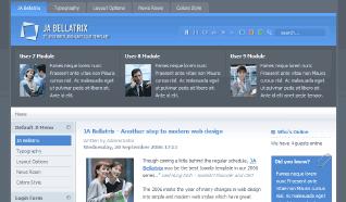 Шаблон JA Bellatrix для CMS Joomla от JoomlArt