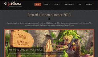 Шаблон JA Blazes для CMS Joomla от JoomlArt