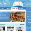Шаблон JA Events для CMS Joomla от JoomlArt